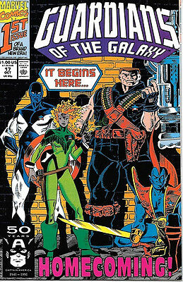 Guardians of the Galaxy Comic Book #17, Marvel 1991 VERY FINE-