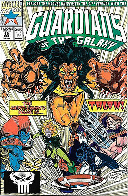 Guardians of the Galaxy Comic Book #19, Marvel 1991 VERY FINE