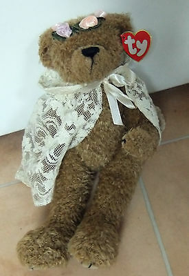 Ty Beanie Babies Attic Treasures Soft Toy/Cuddly/Collectable - Eve Bear