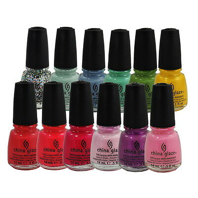 China Glaze Nail Polish Lacquer 0.5oz/15ml *Chose any 1 color*IV