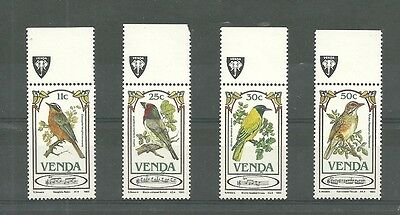South Africa Birds Set Venda 1St Definitive Special Coronation Issue Mint Nh/vf
