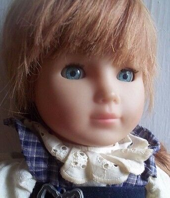 """20 """" RED hair COLETTE collette ZAPF germany GERMANY DOLL"""