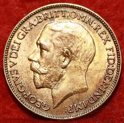 Uncirculated 1923 Great Britain Farthing Foreign Coin Free S/H