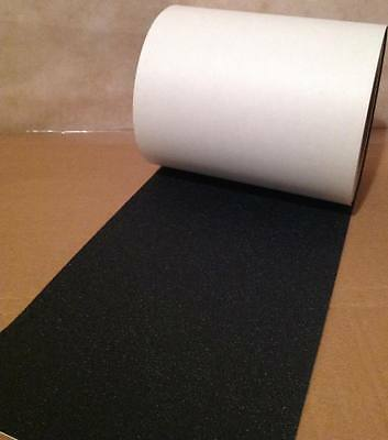"""2"""" x 12' Roll Rubberized Anti Slip Safety Tape Non Skid Stair Step Grip Boat NEW"""