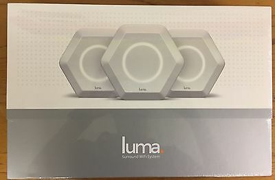NEW factory sealed LUMA SURROUND WiFi/Bluetooth SYSTEM 3-pack