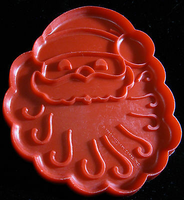 Vintage HALLMARK Large SANTA Cookie Cutter Perfect For Cookie Painting