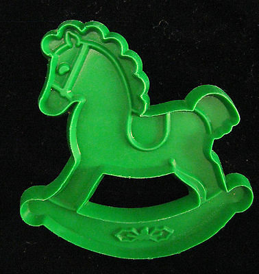 Vintage HALLMARK CHRISTMAS ROCKING HORSE Cookie Cutter For Cookie Painting