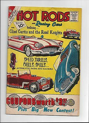 7 Issue Hot Rods and Racing Cars Charlton Comic Lot issues 1961-1970 Very Good