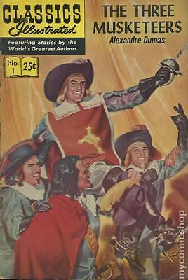 Classics Illustrated 001 The Three Musketeers (1946) #23 FN- 5.5 LOW GRADE