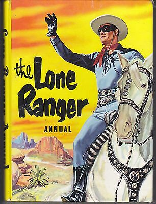 The Lone Ranger Annual World Distributors 1962 Classic Silver Age Annual