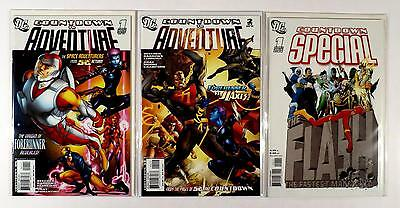 Countdown To Adventure Dc #1 2 Special The Flash Lot Of 3 Comics (Vf/nm)