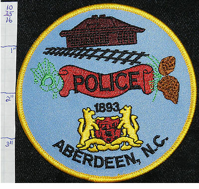 North Carolina, Aberdeen Police Dept Patch