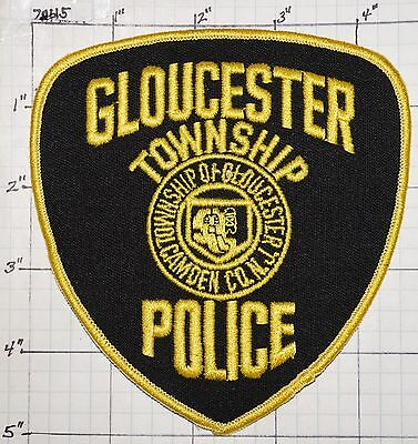 New Jersey, Gloucester Township Police Dept Patch
