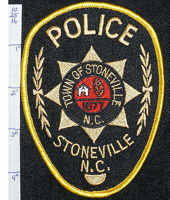 North Carolina, Stoneville Police Dept Patch