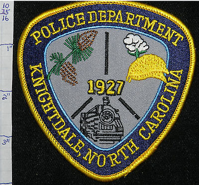 North Carolina, Knightdale Police Dept Patch