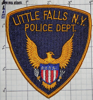 New York, Little Falls Police Dept Patch