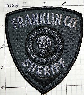Washington, Franklin County Sheriff Subdued Patch