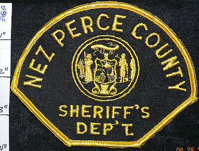 Idaho, Nez Perce County Sheriff's Dept Patch