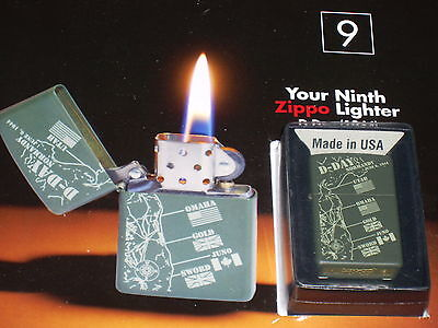 ZIPPO LIGHTER honouring:D-Day-Issue 8:  style-new-ZIPPO LIGHTER and magazine