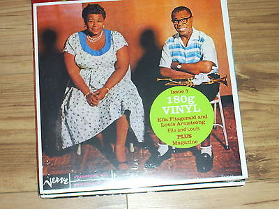 Ella Fitzgerald and Louis Armstrong – -JAZZ 33 -Issue 7-180g vinyl  & magazine