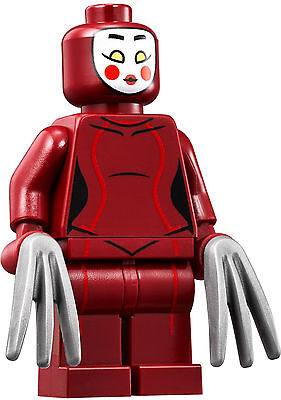 LEGO NEW Minifigure KABUKI TWIN from set 70905 Batman Movie - Minifig sh316