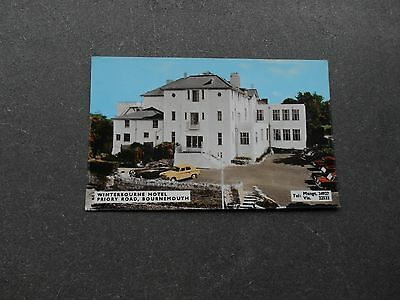 Postcard  BOURNEMOUTH Winterbourne Hotel, Priory Rd - by Dearden & Wade, local