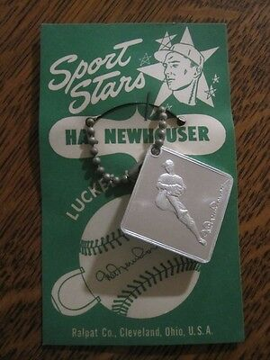 1950 Detroit Tigers Hal Newhouser Sports Star Luckee Key Charm/chain-near mint