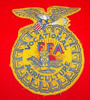 Future Farmers of America FFA Vocational Agricultural LARGE PATCH