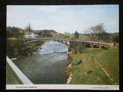 Postcard Worcestershire Stanford Bridge On The River Teme