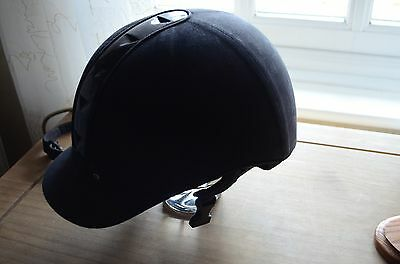 Just Togs Riding Hat - Black - Size: 6 3/4 / 55