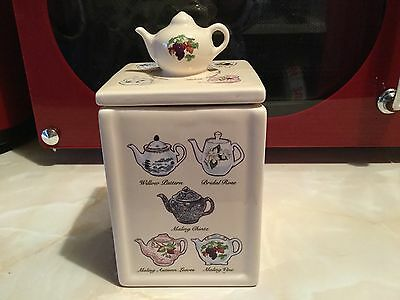 Ringtons The Heritage Collection Tea Caddy Made By Wade