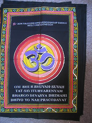 Cloth Sequined Wall Hanging Of Sacred Ohm