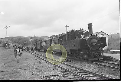 MONO LARGE NEGATIVE WELSHPOOL & LLANFAIR NARROW GAUGE RAILWAY WALES 1960s