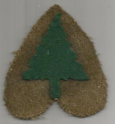 Book Of Dreams WW 1 US Army 91st Division Patch Inv# K998