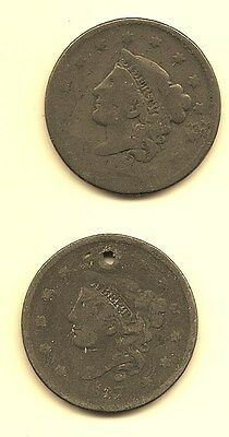 United States Large Cent - 1837 And Unknown