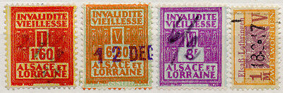 (I.B) France Revenue : Alsace-Lorraine Pensions Collection