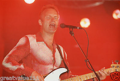 Sting Photo 1983 Huge Unique Unreleased 12 Inch Exclusive Image London Rarity 83