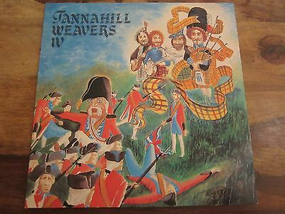 The Tannahill Weavers - Iv - 1981 Uk Release Gatefold Sleeve - Lp In Ex Con