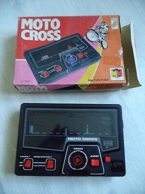 Console Electronics Motocross Mecca Tronic  Style Tabletop Game Watch