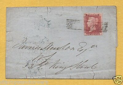 Scotland 1857 Part EL, HANOVER SCOTS LOCAL and POSTED SINCE 7 LAST NIGHT