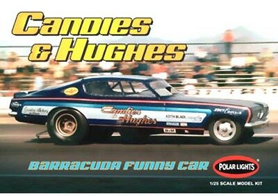Polar Lights Candies and Hughes Plymouth Barracuda Funny Car model kit 1/25