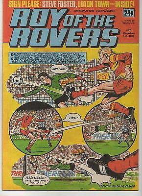 ROY OF THE ROVERS 30th MARCH 1985 EXCELLENT CONDITION