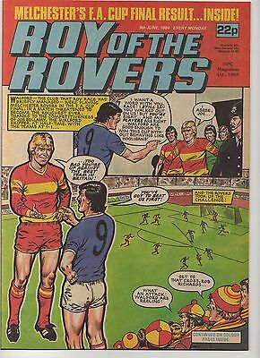 ROY OF THE ROVERS 9th JUNE 1984 EXCELLENT CONDITION