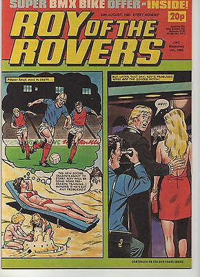 ROY OF THE ROVERS 20th AUGUST 1983 EXCELLENT CONDITION