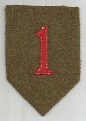 Book Of Dreams WW 1 US Army 1st Division Patch Inv# K988
