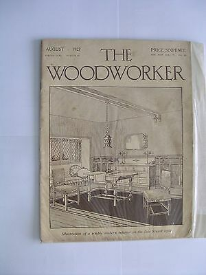 6 copies of 'The Woodworker' magazine. 3 x 1927 & 3 x 1928