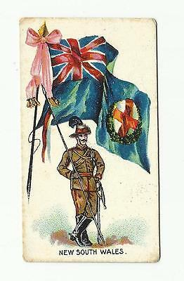Charlesworth & Austin. 1901. New South Wales Flags & Flags with Soldiers. Rare.