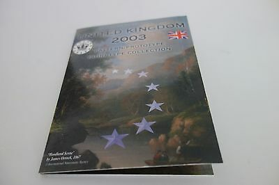 Serie Euro  United Kingdom  Essai  2003