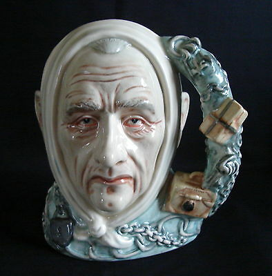 "Royal Doulton Ltd Ed Character Jug ""Marley's Ghost"" & Certificate"
