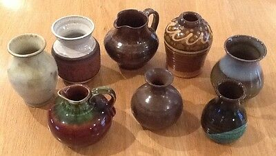 Collection Job Lot Pottery Jugs & Pots Vases Various Exc Condition